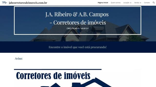 J.A. Ribeiro & A.B. Campos - Corretores de imóveis em Tatuí